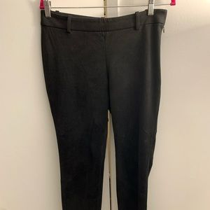 Babaton from Aritzia Suede Black Cropped Pants